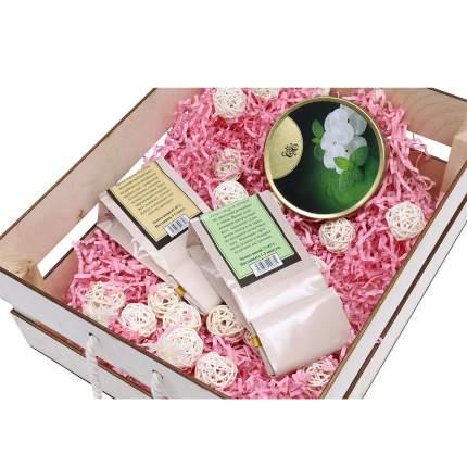"""Набор для оформления подарка """"Маффины"""", ящик 25*20 см, белый 560265"""