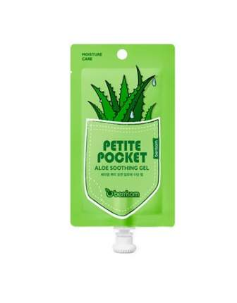 Гель для тела с экстрактом алоэ Berrisom Petite Pocket aloe soothing gel