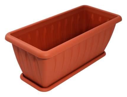 Ящик для растений Martika Фелиция 40см терракот