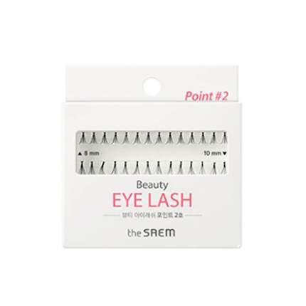 Материал для наращивания ресниц The Saem Beauty Eye Lash Point 02