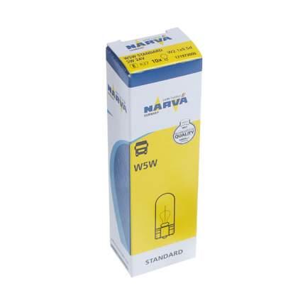 Лампа W5W 12V NVA (упаковка Carton Box 1 шт)