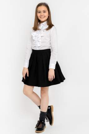 Юбка для девочки Gulliver, цв.чeрный, р-р 134