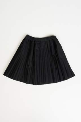 Юбка для девочки Button Blue, цв.чeрный, р-р 170