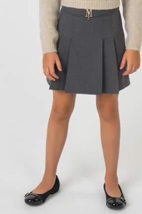 Юбка для девочки Маленькая Леди, цв.серый, р-р 158