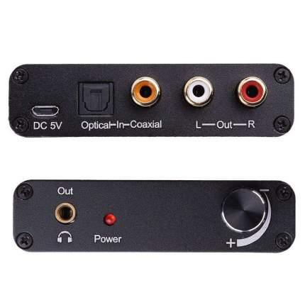 Цифро-аналоговый преобразователь NoBrand (Optical to RCA)