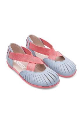 Туфли детские Camper, цв. голубой, р-р 33