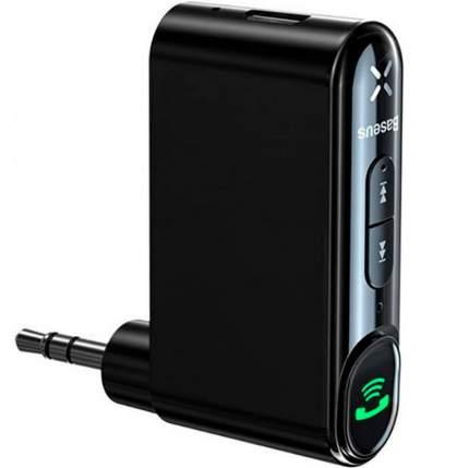 Bluetooth адаптер Baseus Qiyin AUX Car Receiver Black (WXQY-01)