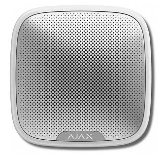 Беспроводная звуковая уличная сирена Ajax StreetSiren (white)