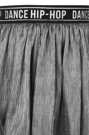 Юбка для девочки Gulliver, цв.серебряный, р-р 104