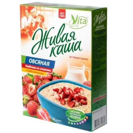 Каша Vita 4 злака с витаминами, пребиотиками, абрикосом 210 г