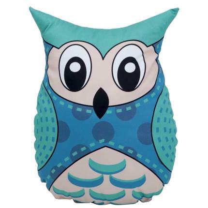 Подушка-игрушка VamVigvam Blue Owl 35х25 см