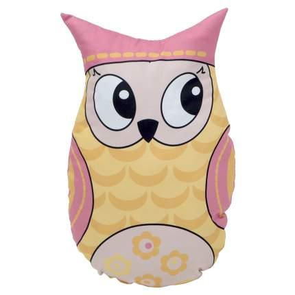 Подушка-игрушка VamVigvam Yellow Owl 35х25 см