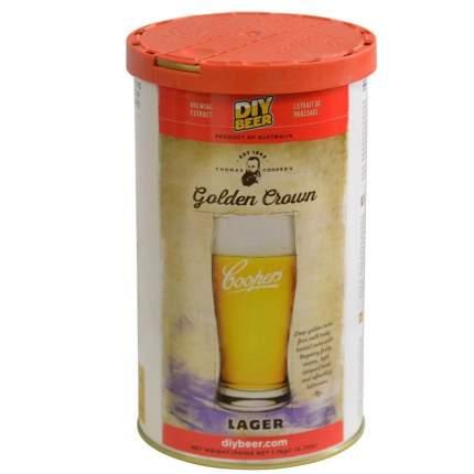 Солодовый экстракт Coopers Golden Crown Lager 1,7 кг