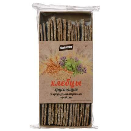 Хлебцы Blockbuster хрустящие со средиземноморскими травами 130г