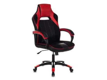 Игровое кресло Бюрократ VIKING-2/BL+RED, черный/красный