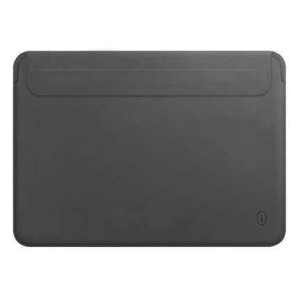 Чехол Wiwu Skin Pro 2 Leather для MacBook Pro 15 (Grey)