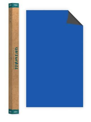 Самоклеющиеся магнитно-меловые обои синие Continent Decor ROLLS-120-150-DSA