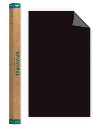 Самоклеющиеся магнитно-меловые обои черный Continent Decor ROLLS-120-150-DSA