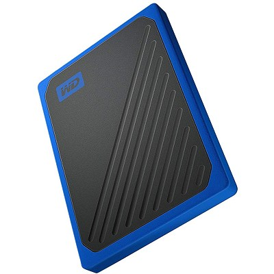 Внешний SSD Western Digital My Passport Go 1 ТБ Blue