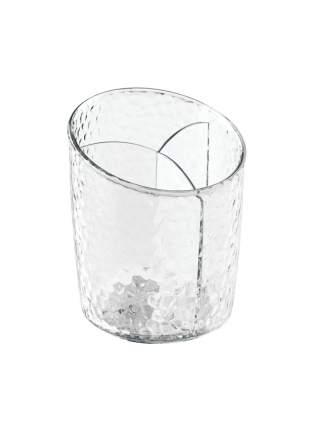 Стакан для хранения принадлежностей Rain 3-х секционный пластиковый