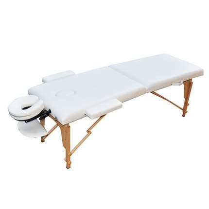 Массажный стол складной Zenet ZET-1042/L white