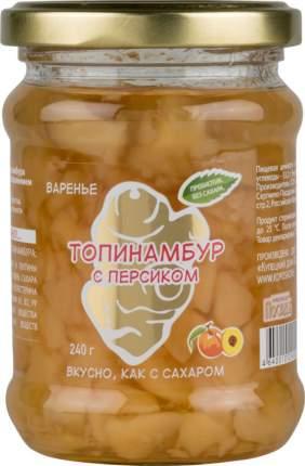 Варенье Купецкий дом Посадъ из топинамбура с персиком без сахара 240 г