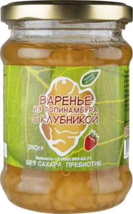 Варенье Купецкий дом Посадъ из топинамбура с клубникой без сахара 240 г