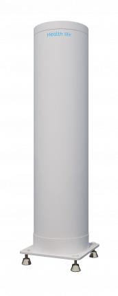 Бактерицидный рециркулятор напольный вертикальный Health life V-100 95м3