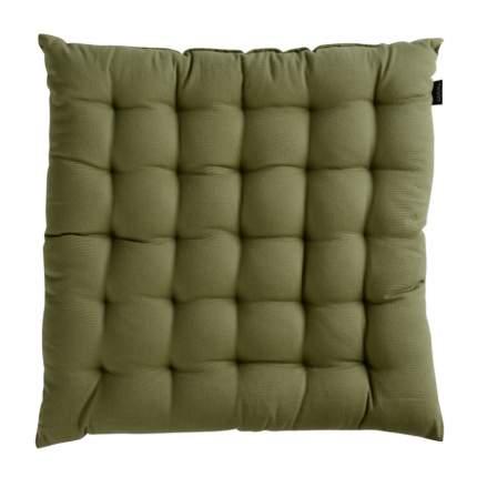 Подушка на стул оливкового цвета из коллекции wild, 40х40 см