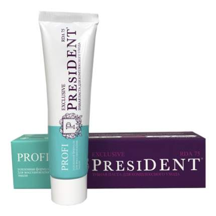 PresiDENT Profi Exclusive Зубная паста 50мл
