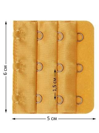 Удлинитель-расширитель для бюстгальтера Tenkraft Loral желтый