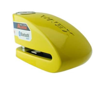 Замок на диск мотоцикла с сиреной Xena XX15-Y BLE (Желтый)