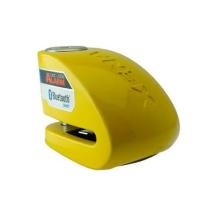 Замок на диск мотоцикла с сиреной Xena XX14-Y BLE (Желтый)