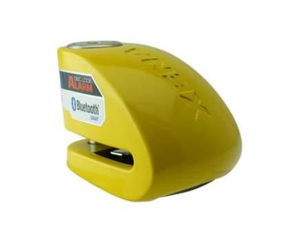 Замок на диск мотоцикла с сиреной Xena XX10-Y BLE (Желтый)