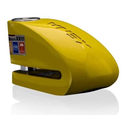 Замок на диск с сиреной Xena XX15 Yellow (Желтый)