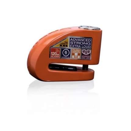 Замок на диск мотоцикла с сиреной Xena XX6-HD BLE (Оранжевый)