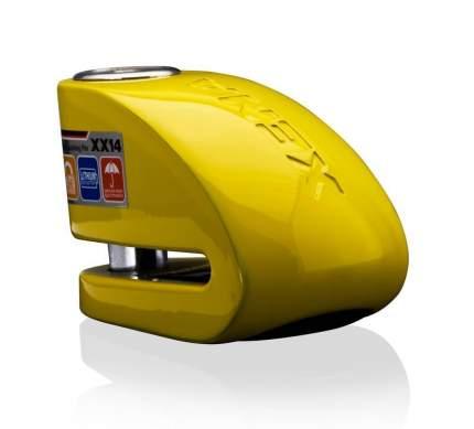 Замок на диск с сиреной Xena XX14 Yellow (Желтый)