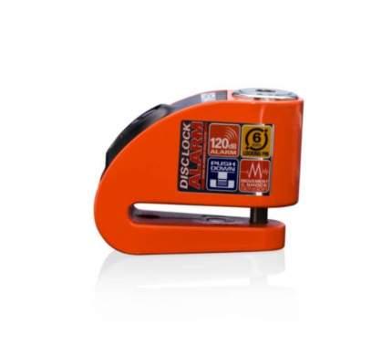 Замок на диск с сиреной Xena XZZ6L Orange (Оранжевый)