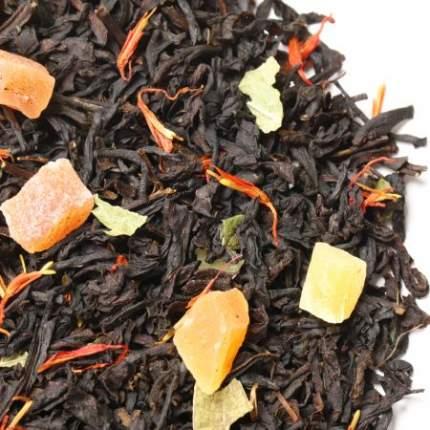Черный чай с персиком, 100 г