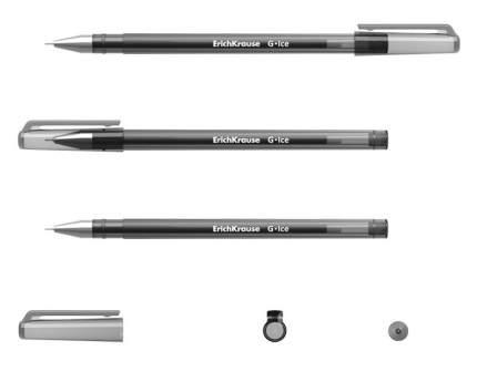 Ручка гелевая ErichKrause® G-Ice, цвет чернил черный