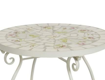 Садовый стол РИМСКОЕ ПАТИО, металл, мозаика, 60x60x70см (Kaemingk)