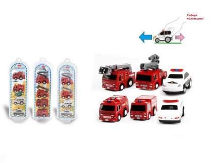 Набор инерционных машинок Junfa toys Мегамоторы 4 штуки 121934-TN