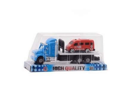 Набор Junfa toys Автовоз с машинкой