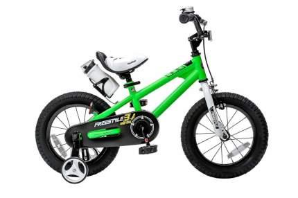 """Детский велосипед Royal Baby Freestyle Steel 18"""" Зеленый"""