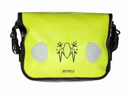 Боковая сумка на мотоцикл Amphibious Sidebag 4/5,5 литров Желтый