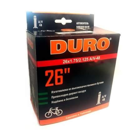"Велосипедная камера Duro 26х1,75/2,125 А/V-48 двойной обод/DHB01008 26"""