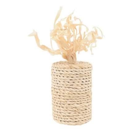 Игрушка для кошек Triol Бабина кукурузные листья, бежевый, 11 см