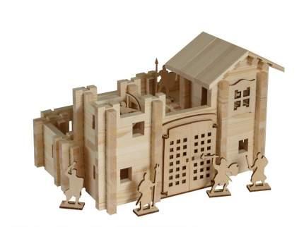 Конструктор ЛЕСОВИЧОК les 034 Замок №2 набор из 340 деталей