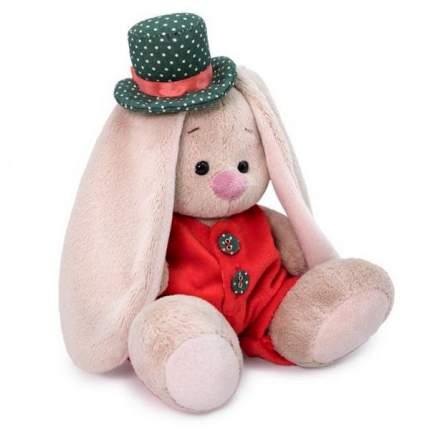 Мягкая игрушка BUDI BASA SidX-349 Зайка Ми в красном меховом комбинезоне 15см