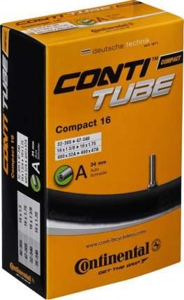 "Велосипедная камера Continental Compact ZCO81091 16"", 1,4-1,75"""